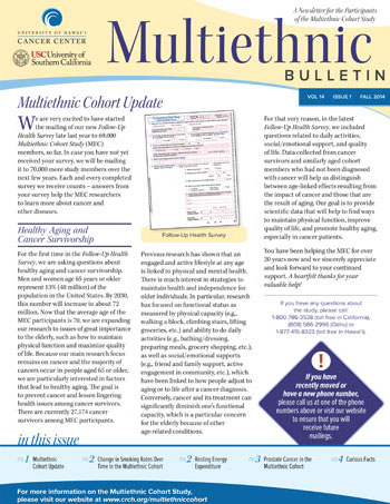 MEC Fall 2014 newsletter