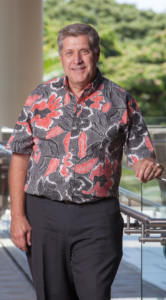 UH Cancer Director, Randall F. Holcombe
