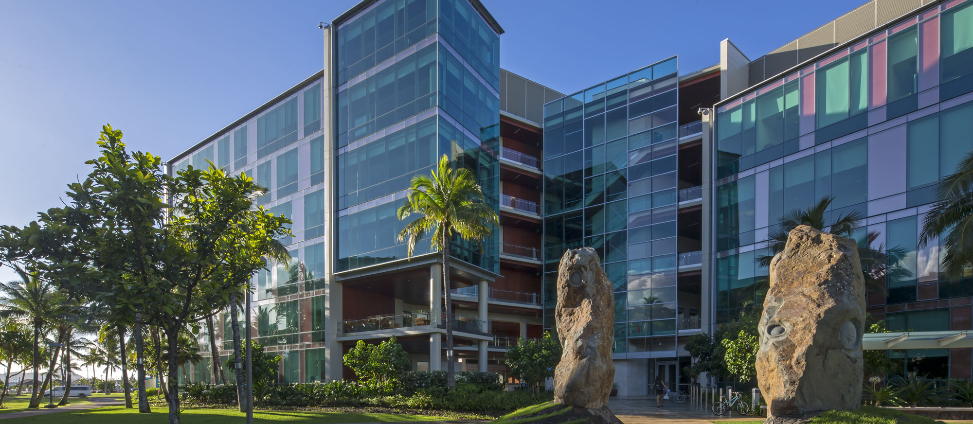 The University of Hawaii Cancer Center campus in Kakaako