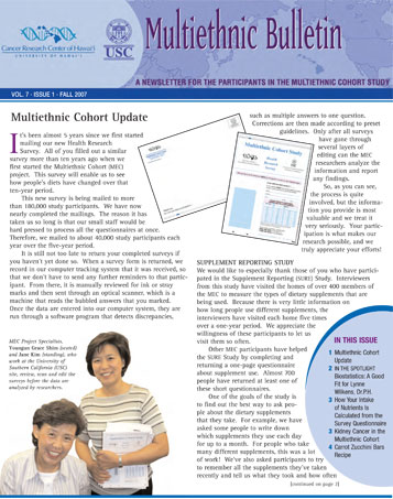 MEC Fall 2007 newsletter