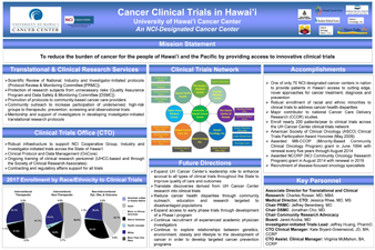 Clinical Trials in Hawaii poster for MEC 25 year anniversary