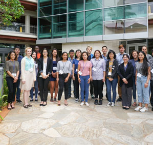 Summer 2018 Interns at the UH Cancer Center